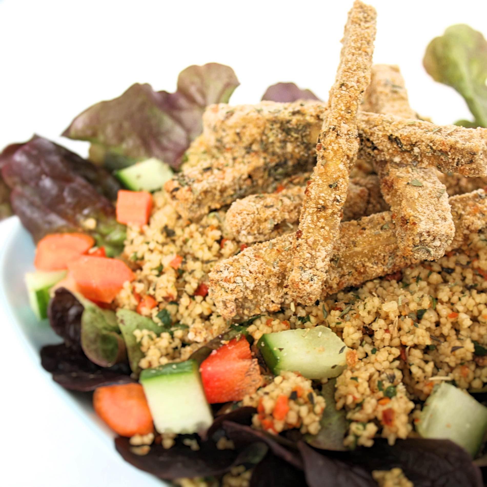 Vegan panieren – so geht's ganz einfach!