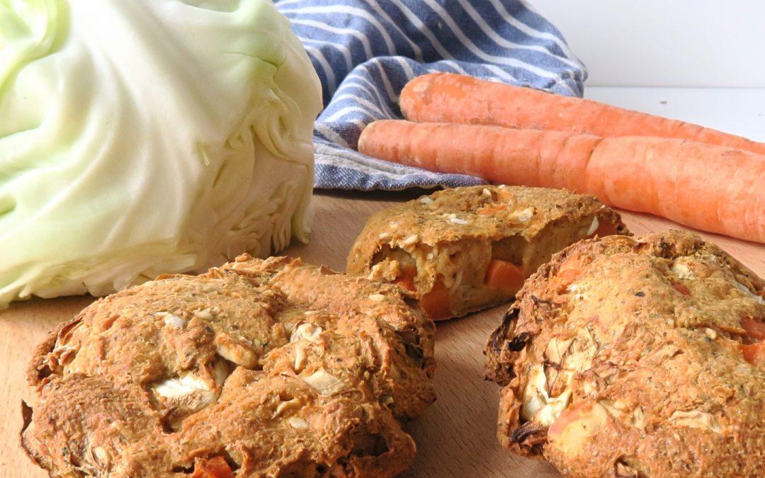 Trester weiterverarbeiten: Rezept für vegetarische Bratlinge