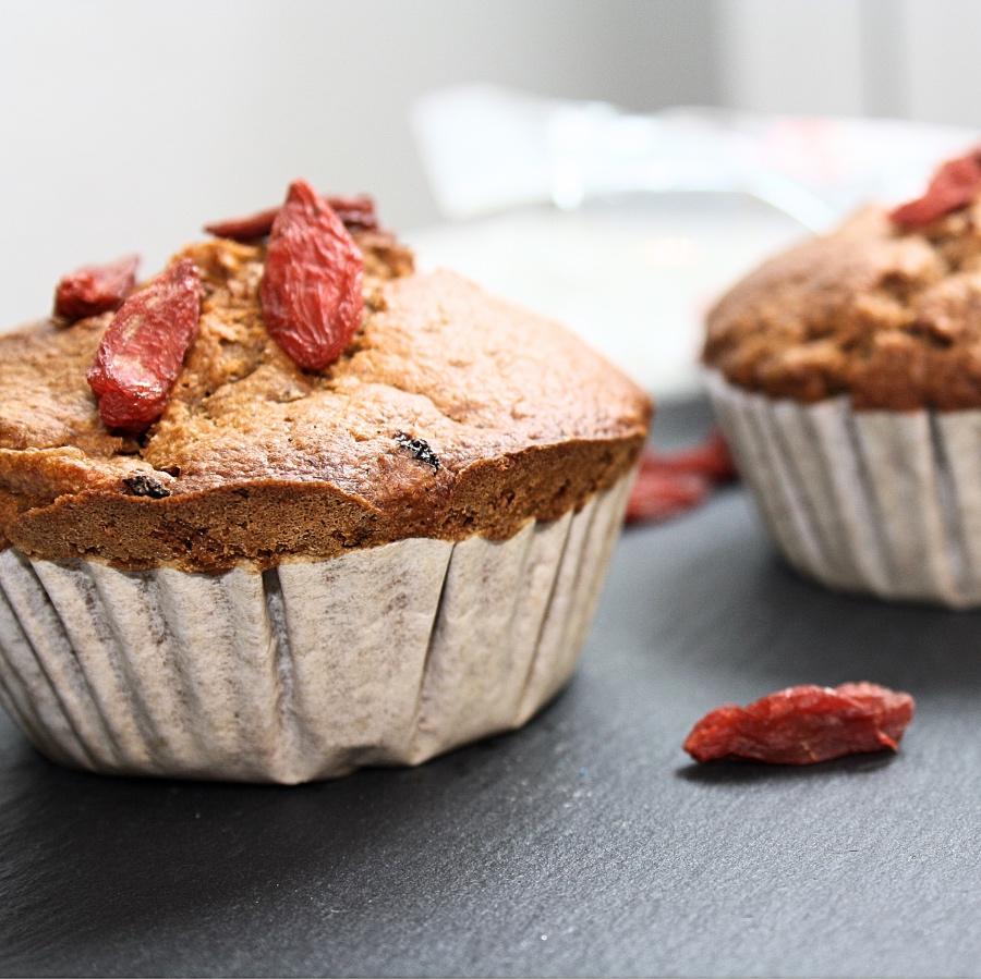 Gesunde Muffins mit Dinkelmehl