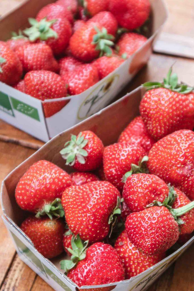 Erdbeeren am besten regional und bio kaufen