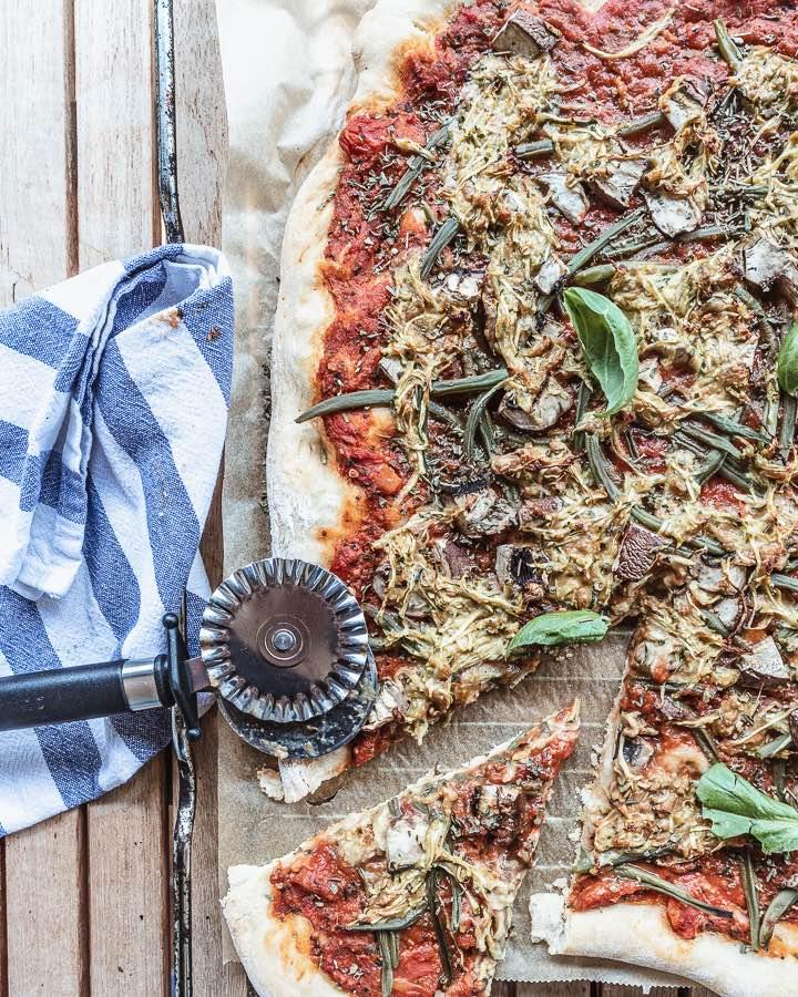 Veganen Pizzakäse Rezept