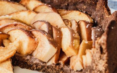 Feiner Quittenkuchen mit nussigem Vollkorn-Teig