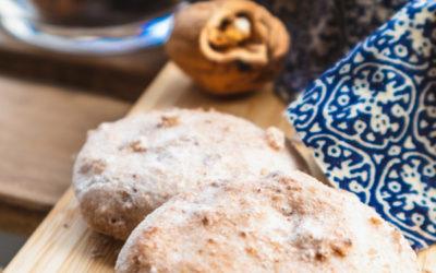 Zero Waste Weihnachtsbäckerei: Walnussmakronen mit Kichererbsenwasser