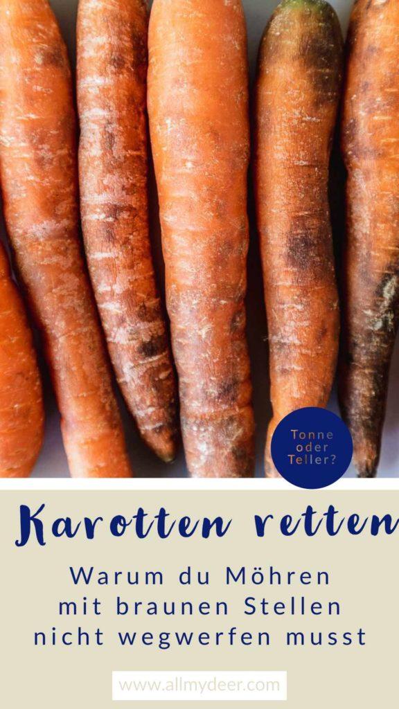 Pinterestgrafik: Karotten retten