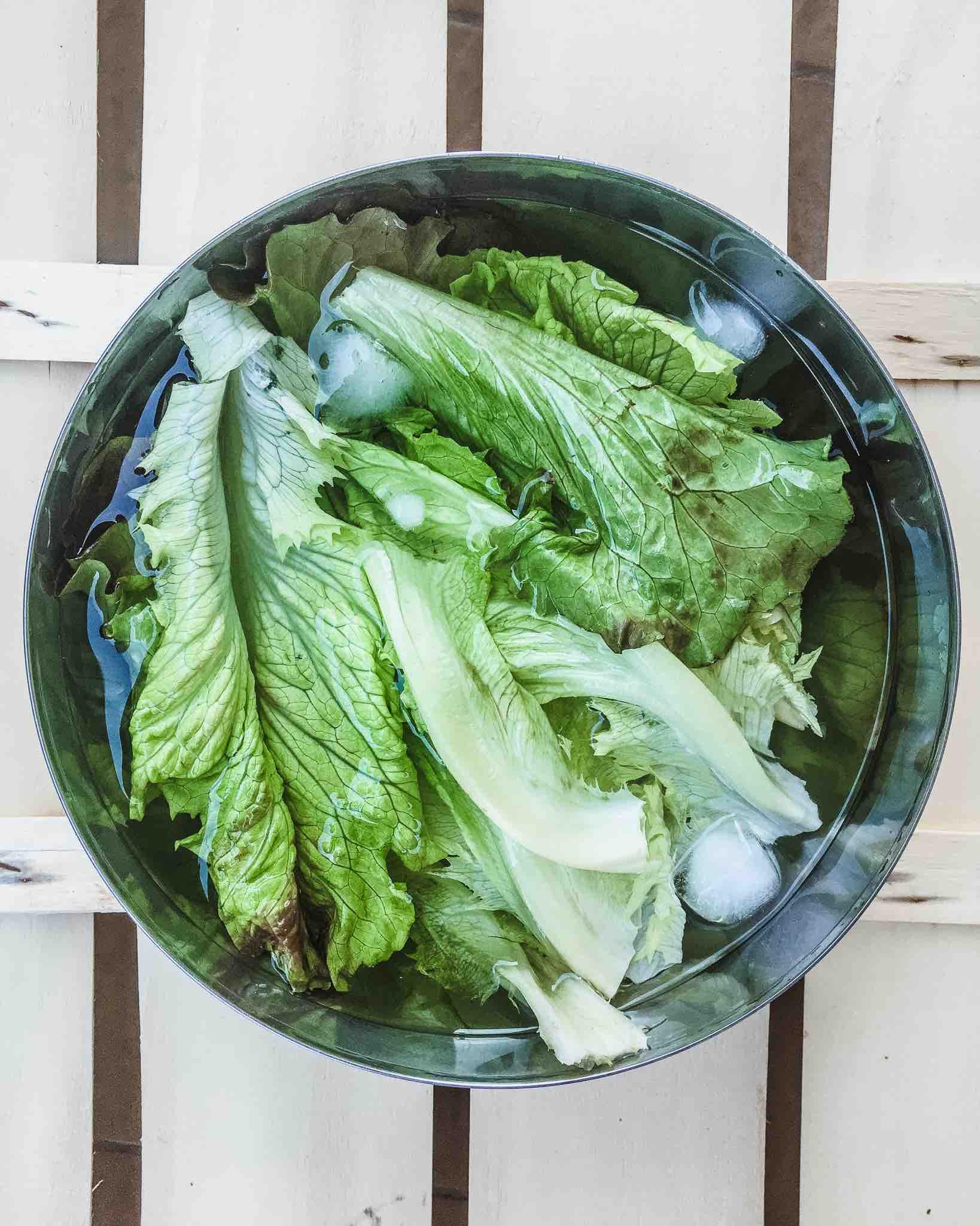 Bio Lebensmittel sind auch für sauberes Wasser wichtig