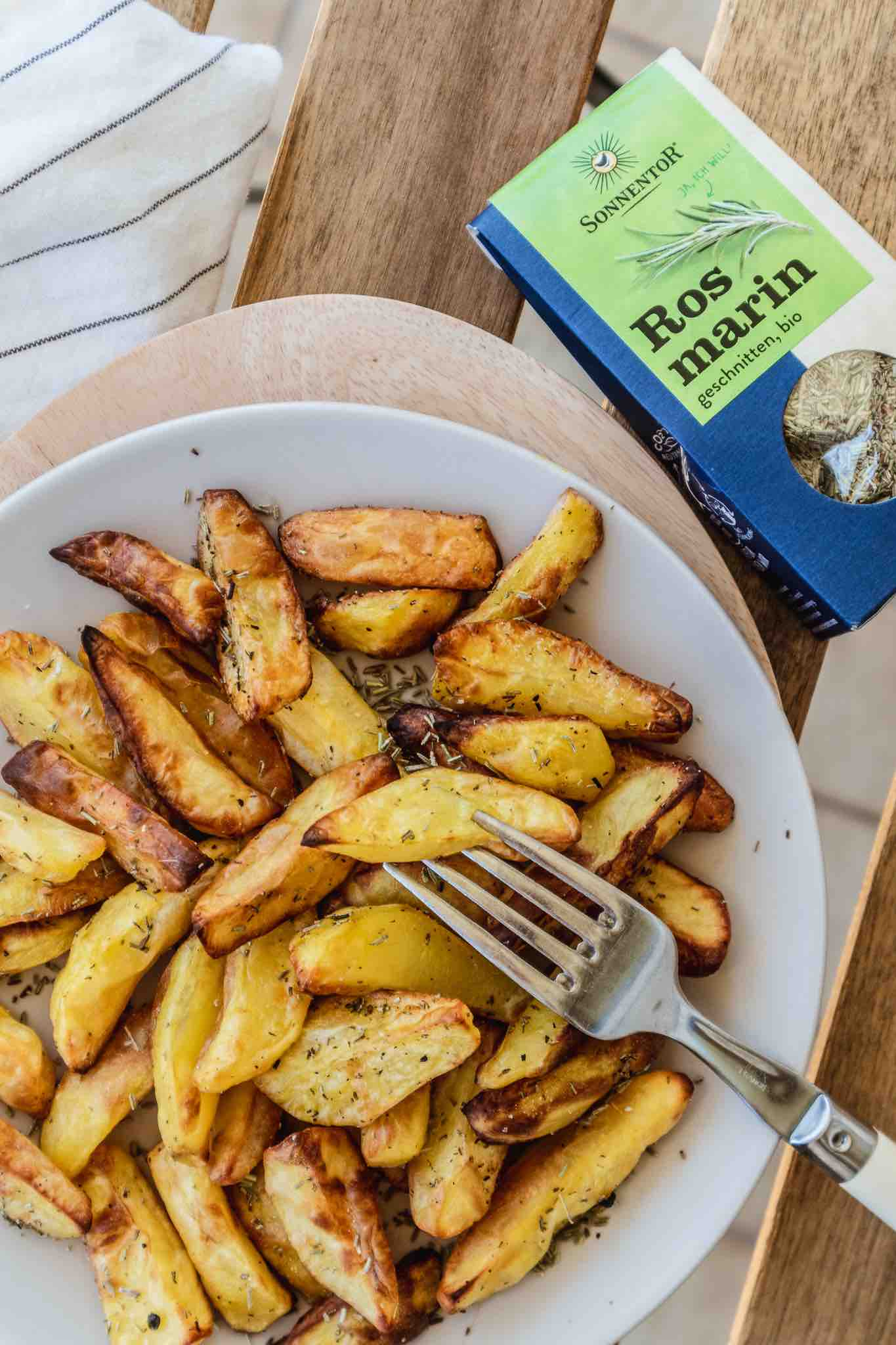 So gelingen wirklich knusprige Ofenkartoffeln #ofenkartoffeln #kartoffelrezepte #kochenmitvorräten #vorräteaufbrauchen