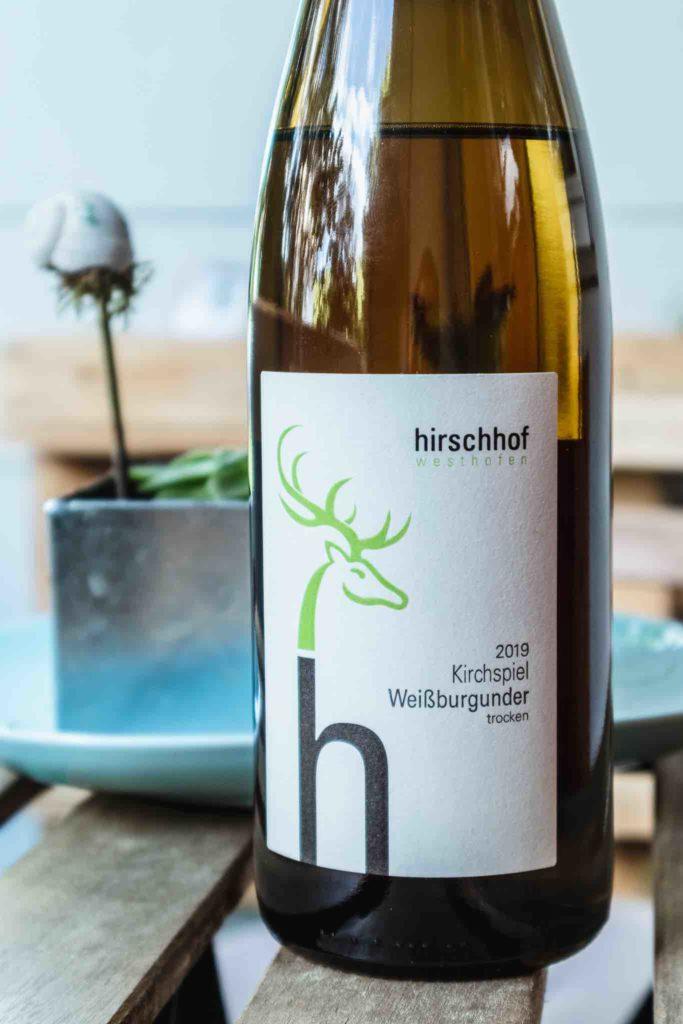 Bio Wein Weißburgunder Hirschof Delinat