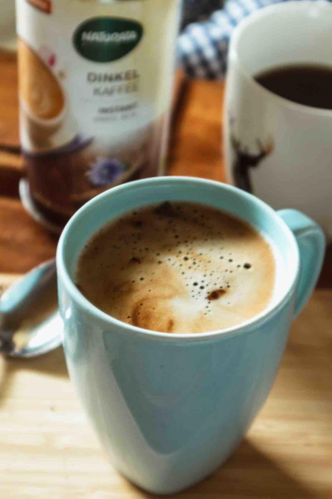 Dinkelkaffee mit intensiver Crema