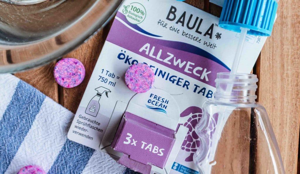 Bio Baula Reinigertabs enhlaten Bio Zitronensäure