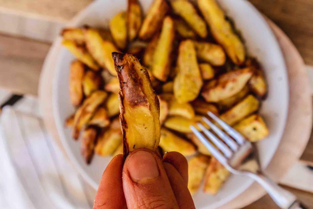 So werden Ofenkartoffeln extra knusprig