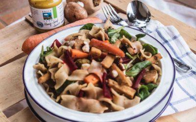 Saisonal essen im Winter – köstliches Wintermenü mit bayerischen Bio-Produkten