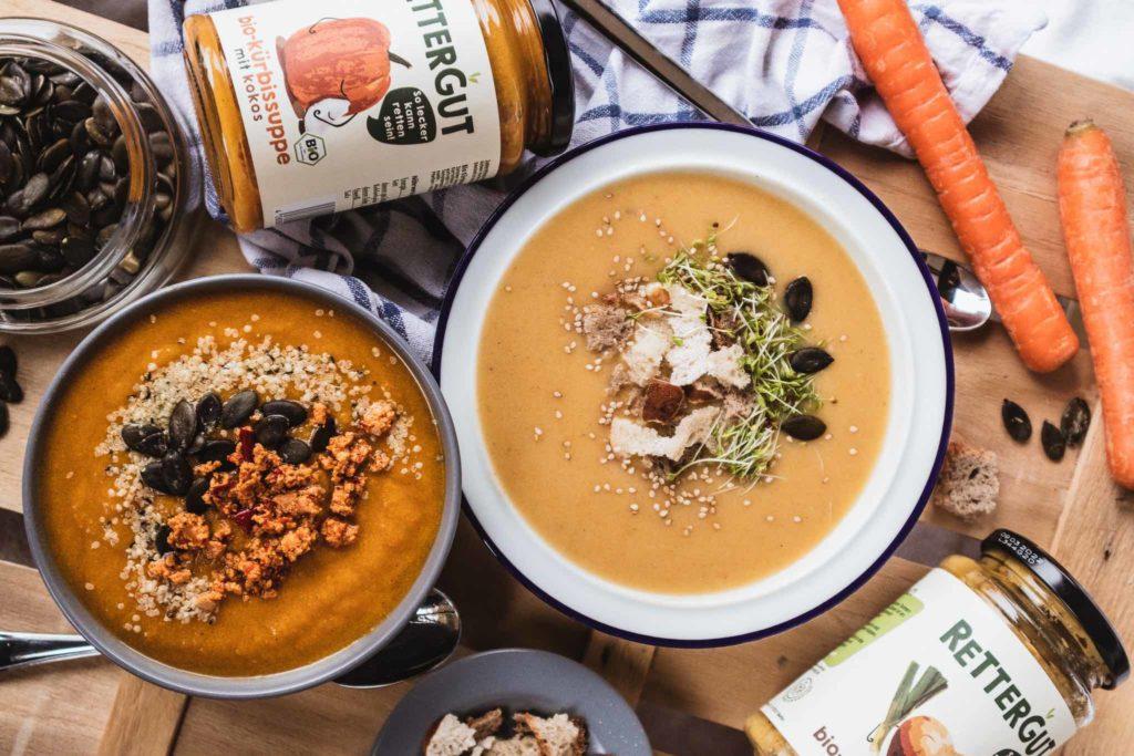 Einfache und leckere Suppen