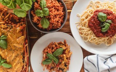 Pastaparty! Nudeln mit Tomatensauce so köstlich wie niezuvor