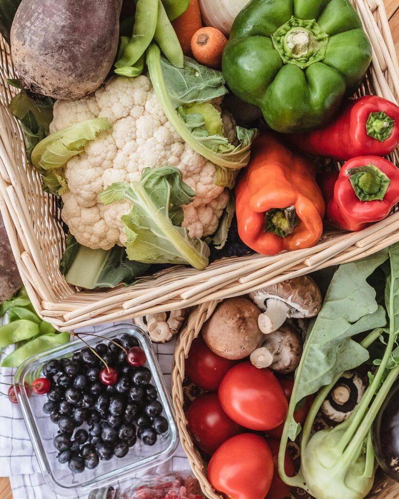 Saisonles Obst und Gemüse gibt es im Sommer in Hülle und Fülle!